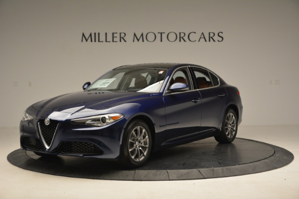 New 2017 Alfa Romeo Giulia Q4 for sale Sold at Rolls-Royce Motor Cars Greenwich in Greenwich CT 06830 1
