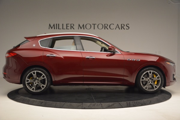 Used 2017 Maserati Levante S for sale Sold at Rolls-Royce Motor Cars Greenwich in Greenwich CT 06830 9