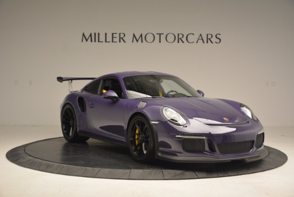 Used 2016 Porsche 911 GT3 RS for sale Sold at Rolls-Royce Motor Cars Greenwich in Greenwich CT 06830 11