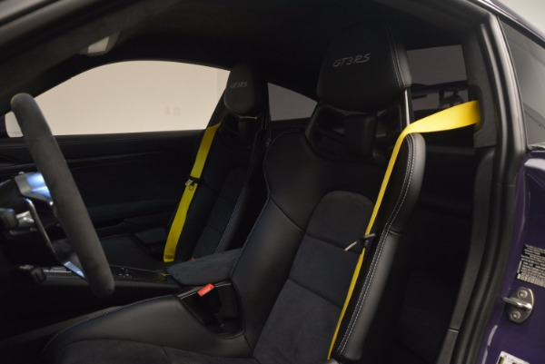 Used 2016 Porsche 911 GT3 RS for sale Sold at Rolls-Royce Motor Cars Greenwich in Greenwich CT 06830 16
