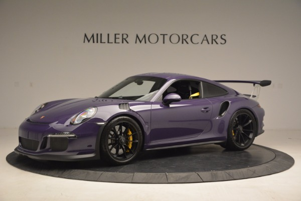 Used 2016 Porsche 911 GT3 RS for sale Sold at Rolls-Royce Motor Cars Greenwich in Greenwich CT 06830 2