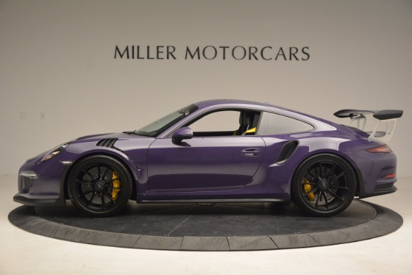 Used 2016 Porsche 911 GT3 RS for sale Sold at Rolls-Royce Motor Cars Greenwich in Greenwich CT 06830 3