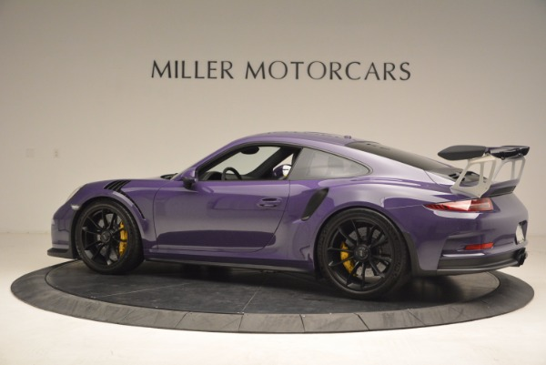 Used 2016 Porsche 911 GT3 RS for sale Sold at Rolls-Royce Motor Cars Greenwich in Greenwich CT 06830 4