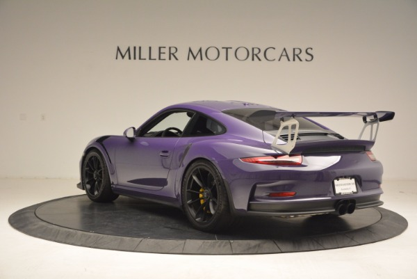 Used 2016 Porsche 911 GT3 RS for sale Sold at Rolls-Royce Motor Cars Greenwich in Greenwich CT 06830 5