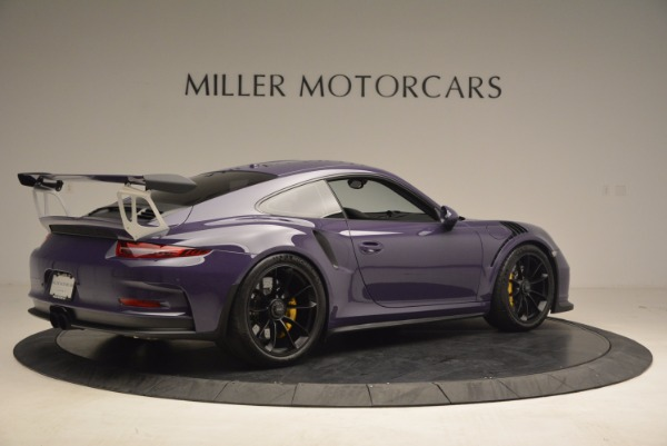 Used 2016 Porsche 911 GT3 RS for sale Sold at Rolls-Royce Motor Cars Greenwich in Greenwich CT 06830 8