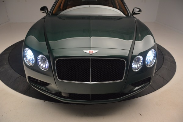 New 2017 Bentley Flying Spur V8 S for sale Sold at Rolls-Royce Motor Cars Greenwich in Greenwich CT 06830 16