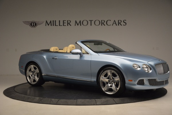 Used 2012 Bentley Continental GTC W12 for sale Sold at Rolls-Royce Motor Cars Greenwich in Greenwich CT 06830 10
