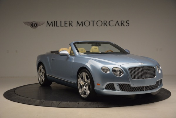 Used 2012 Bentley Continental GTC W12 for sale Sold at Rolls-Royce Motor Cars Greenwich in Greenwich CT 06830 11