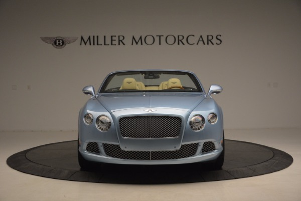 Used 2012 Bentley Continental GTC W12 for sale Sold at Rolls-Royce Motor Cars Greenwich in Greenwich CT 06830 12