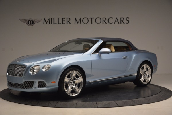 Used 2012 Bentley Continental GTC W12 for sale Sold at Rolls-Royce Motor Cars Greenwich in Greenwich CT 06830 14