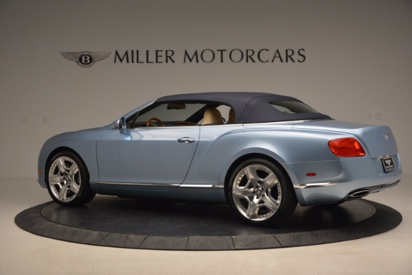 Used 2012 Bentley Continental GTC W12 for sale Sold at Rolls-Royce Motor Cars Greenwich in Greenwich CT 06830 16