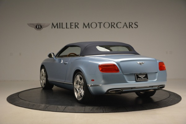 Used 2012 Bentley Continental GTC W12 for sale Sold at Rolls-Royce Motor Cars Greenwich in Greenwich CT 06830 17