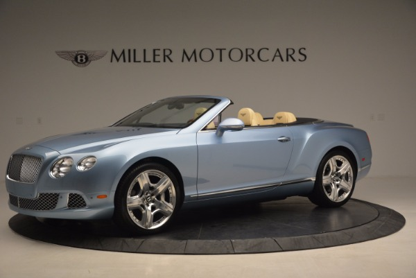 Used 2012 Bentley Continental GTC W12 for sale Sold at Rolls-Royce Motor Cars Greenwich in Greenwich CT 06830 2