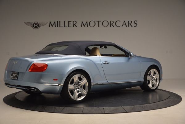 Used 2012 Bentley Continental GTC W12 for sale Sold at Rolls-Royce Motor Cars Greenwich in Greenwich CT 06830 20