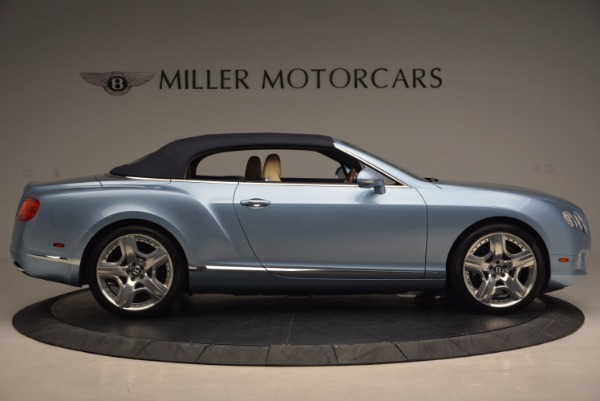 Used 2012 Bentley Continental GTC W12 for sale Sold at Rolls-Royce Motor Cars Greenwich in Greenwich CT 06830 21