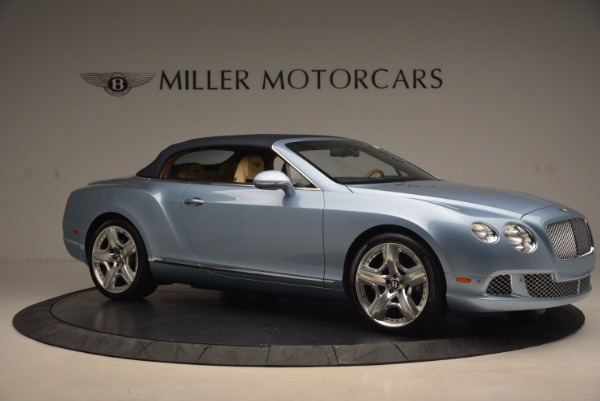 Used 2012 Bentley Continental GTC W12 for sale Sold at Rolls-Royce Motor Cars Greenwich in Greenwich CT 06830 22