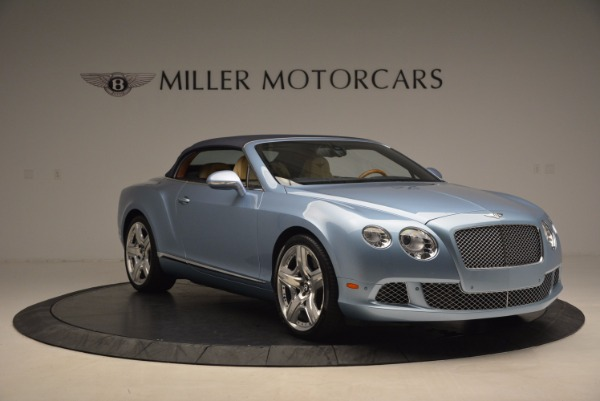 Used 2012 Bentley Continental GTC W12 for sale Sold at Rolls-Royce Motor Cars Greenwich in Greenwich CT 06830 23