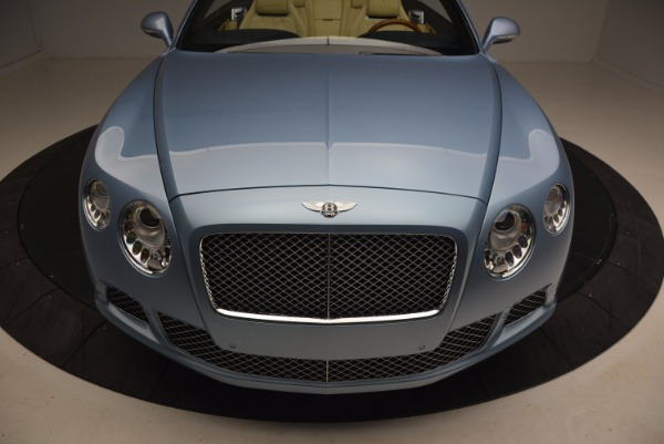 Used 2012 Bentley Continental GTC W12 for sale Sold at Rolls-Royce Motor Cars Greenwich in Greenwich CT 06830 24