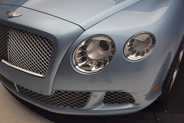 Used 2012 Bentley Continental GTC W12 for sale Sold at Rolls-Royce Motor Cars Greenwich in Greenwich CT 06830 25