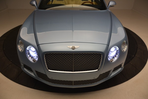 Used 2012 Bentley Continental GTC W12 for sale Sold at Rolls-Royce Motor Cars Greenwich in Greenwich CT 06830 26