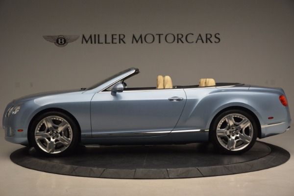 Used 2012 Bentley Continental GTC W12 for sale Sold at Rolls-Royce Motor Cars Greenwich in Greenwich CT 06830 3