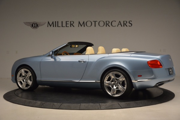 Used 2012 Bentley Continental GTC W12 for sale Sold at Rolls-Royce Motor Cars Greenwich in Greenwich CT 06830 4