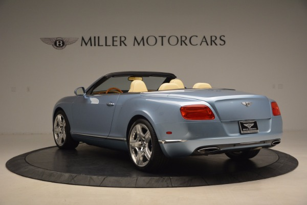 Used 2012 Bentley Continental GTC W12 for sale Sold at Rolls-Royce Motor Cars Greenwich in Greenwich CT 06830 5