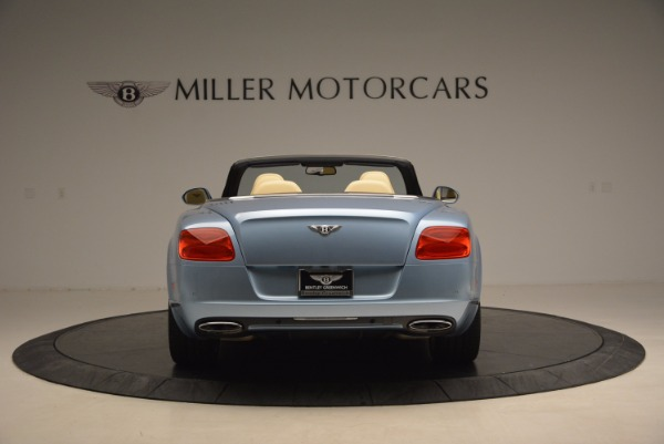 Used 2012 Bentley Continental GTC W12 for sale Sold at Rolls-Royce Motor Cars Greenwich in Greenwich CT 06830 6