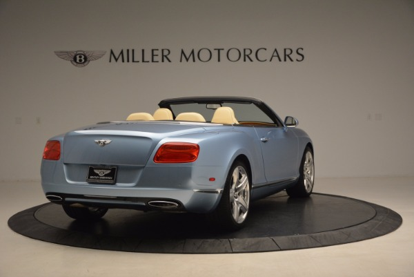 Used 2012 Bentley Continental GTC W12 for sale Sold at Rolls-Royce Motor Cars Greenwich in Greenwich CT 06830 7