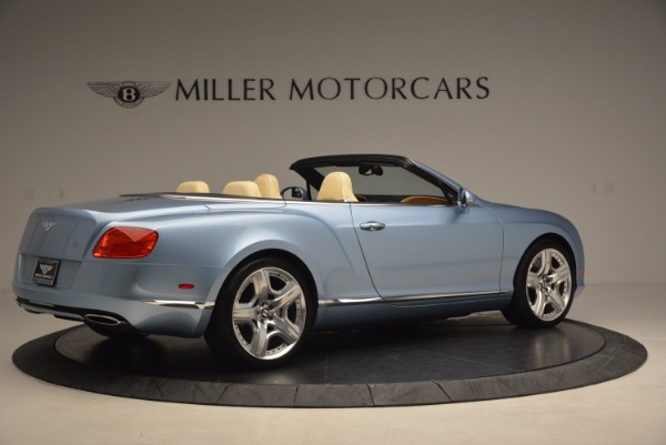 Used 2012 Bentley Continental GTC W12 for sale Sold at Rolls-Royce Motor Cars Greenwich in Greenwich CT 06830 8