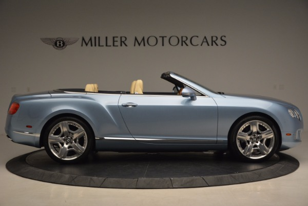 Used 2012 Bentley Continental GTC W12 for sale Sold at Rolls-Royce Motor Cars Greenwich in Greenwich CT 06830 9