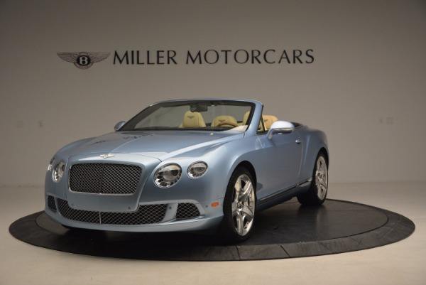 Used 2012 Bentley Continental GTC W12 for sale Sold at Rolls-Royce Motor Cars Greenwich in Greenwich CT 06830 1