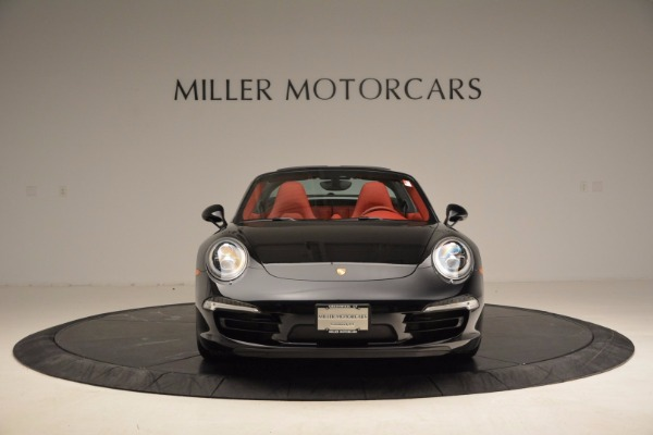 Used 2015 Porsche 911 Targa 4S for sale Sold at Rolls-Royce Motor Cars Greenwich in Greenwich CT 06830 12