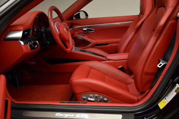 Used 2015 Porsche 911 Targa 4S for sale Sold at Rolls-Royce Motor Cars Greenwich in Greenwich CT 06830 22