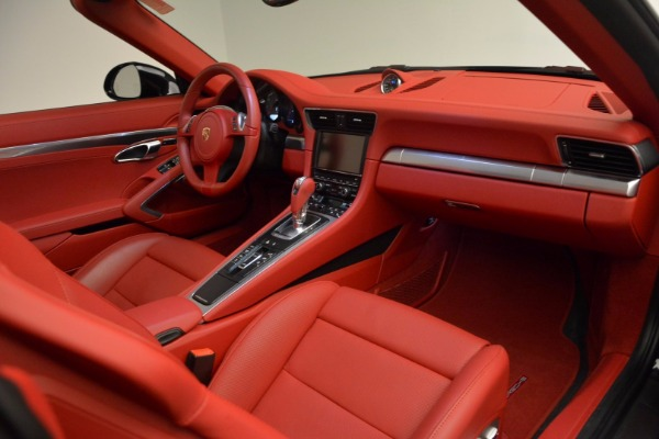 Used 2015 Porsche 911 Targa 4S for sale Sold at Rolls-Royce Motor Cars Greenwich in Greenwich CT 06830 25