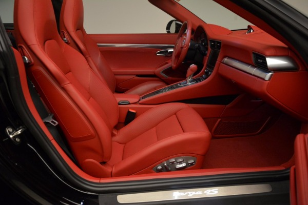 Used 2015 Porsche 911 Targa 4S for sale Sold at Rolls-Royce Motor Cars Greenwich in Greenwich CT 06830 26