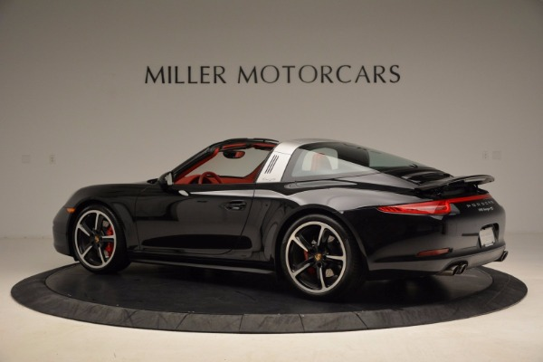 Used 2015 Porsche 911 Targa 4S for sale Sold at Rolls-Royce Motor Cars Greenwich in Greenwich CT 06830 4