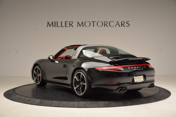 Used 2015 Porsche 911 Targa 4S for sale Sold at Rolls-Royce Motor Cars Greenwich in Greenwich CT 06830 5