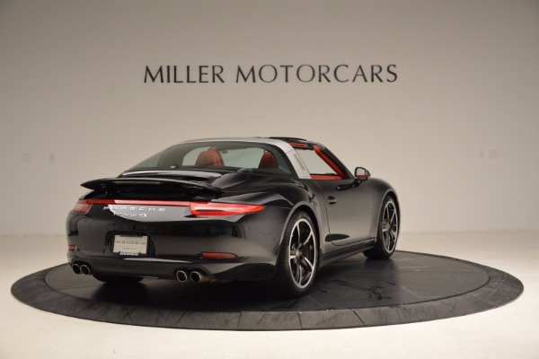 Used 2015 Porsche 911 Targa 4S for sale Sold at Rolls-Royce Motor Cars Greenwich in Greenwich CT 06830 7