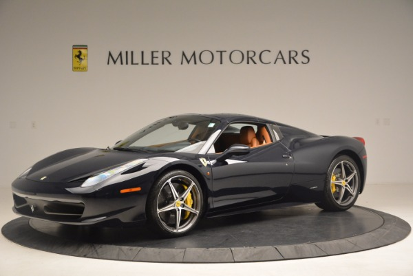 Used 2015 Ferrari 458 Spider for sale Sold at Rolls-Royce Motor Cars Greenwich in Greenwich CT 06830 12