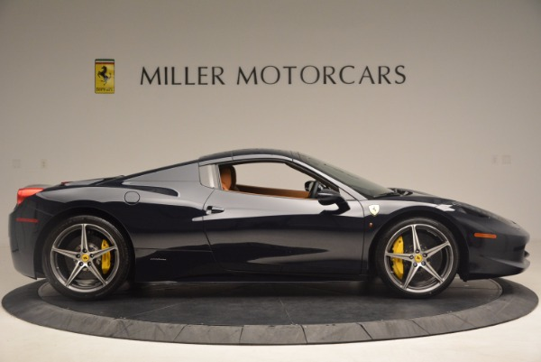 Used 2015 Ferrari 458 Spider for sale Sold at Rolls-Royce Motor Cars Greenwich in Greenwich CT 06830 19
