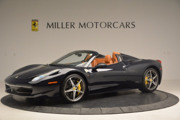 Used 2015 Ferrari 458 Spider for sale Sold at Rolls-Royce Motor Cars Greenwich in Greenwich CT 06830 2
