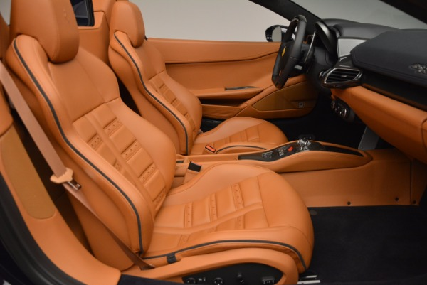 Used 2015 Ferrari 458 Spider for sale Sold at Rolls-Royce Motor Cars Greenwich in Greenwich CT 06830 26