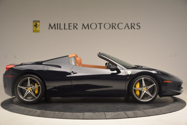 Used 2015 Ferrari 458 Spider for sale Sold at Rolls-Royce Motor Cars Greenwich in Greenwich CT 06830 9