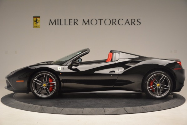 Used 2017 Ferrari 488 Spider for sale Sold at Rolls-Royce Motor Cars Greenwich in Greenwich CT 06830 3