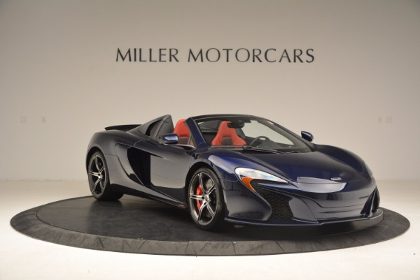 Used 2015 McLaren 650S Spider for sale Sold at Rolls-Royce Motor Cars Greenwich in Greenwich CT 06830 11