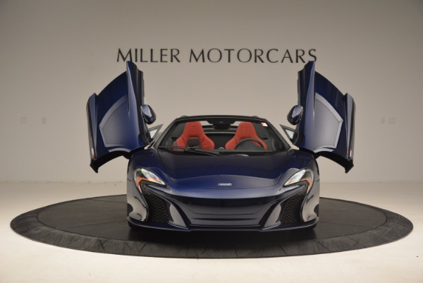 Used 2015 McLaren 650S Spider for sale Sold at Rolls-Royce Motor Cars Greenwich in Greenwich CT 06830 13