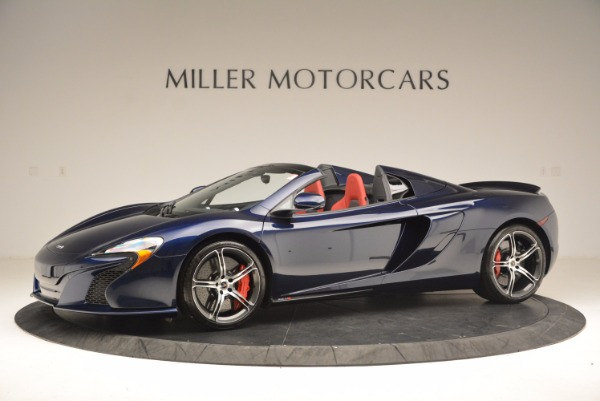 Used 2015 McLaren 650S Spider for sale Sold at Rolls-Royce Motor Cars Greenwich in Greenwich CT 06830 2