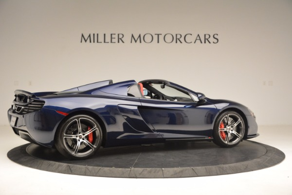 Used 2015 McLaren 650S Spider for sale Sold at Rolls-Royce Motor Cars Greenwich in Greenwich CT 06830 8