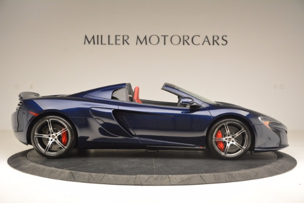 Used 2015 McLaren 650S Spider for sale Sold at Rolls-Royce Motor Cars Greenwich in Greenwich CT 06830 9